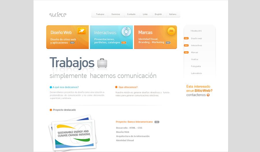 Surface Website